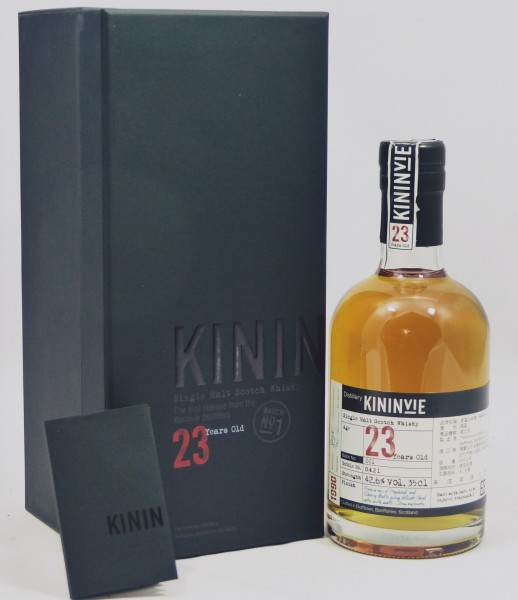 Kininvie 1990 23 Years Batch No. 001