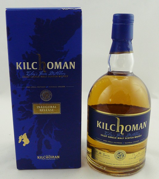 Kilchoman Inaugural limited 1st 2009 Release